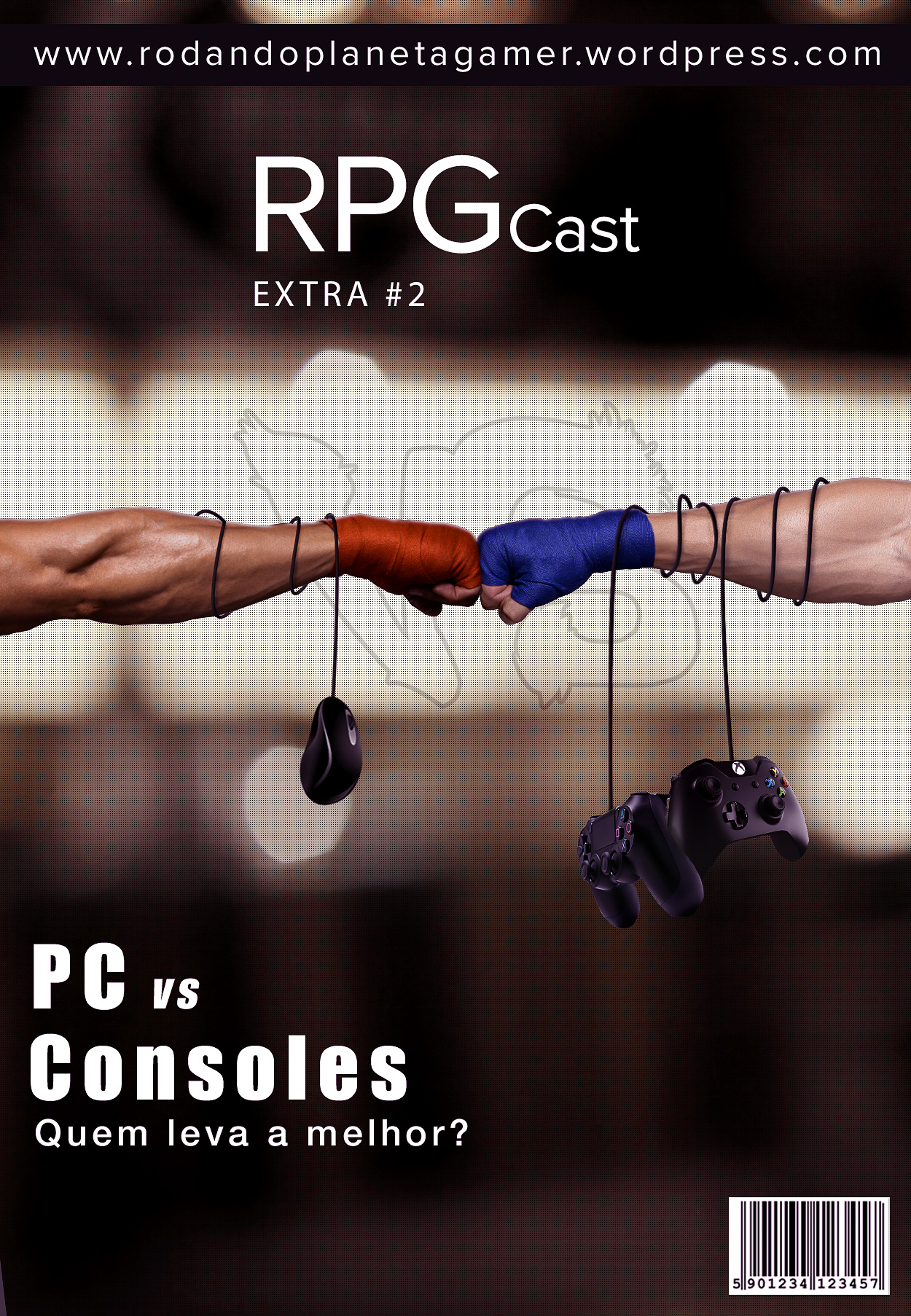 RPG Cast Extra #2 Capa by: Henrique